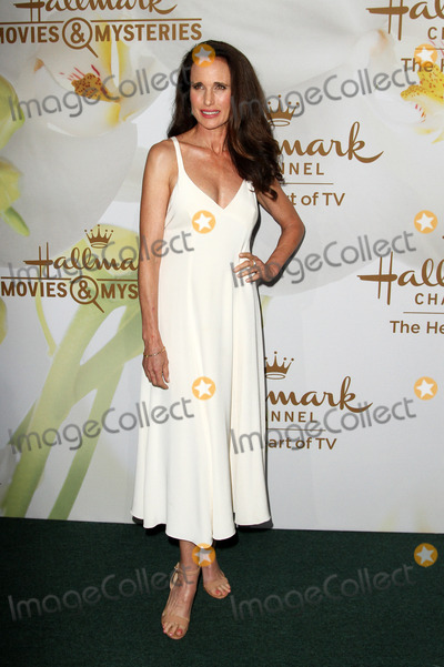 Andie Macdowell Photo - 27 July 2017 - Los Angeles, California - Andie MacDowell. Hallmark Channel & Hallmark Movies and Mysteries Summer 2017 Television Critics Association Press Tour Event held at a Private Estate in Beverly Hills. Photo Credit: AdMedia