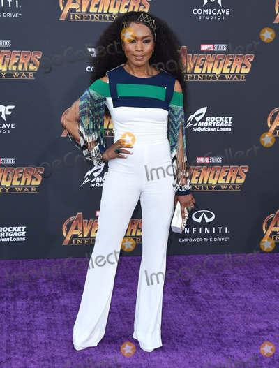 "Angela Bassett Photo - 23 April 2018 -  Hollywood, California - Angela Bassett. Disney and Marvel's ""Avengers: Infinity War"" Los Angeles Premiere held at Dolby Theater. Photo Credit: Birdie Thompson/AdMedia"