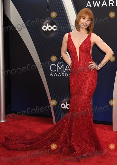 Alicia Witt, CMA Award Photo - 14 November 2018 - Nashville, Tennessee - Alicia Witt. 52nd Annual CMA Awards, Country Music's Biggest Night, held at Bridgestone Arena. Photo Credit: Laura Farr/AdMedia