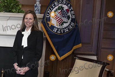 Supremes, The Used, Josh Hawley, Supreme Court Photo - Seventh United States Circuit Court Judge Amy Coney Barrett, US President Donald J. Trump's nominee for the US Supreme Court meets with United States Senator Josh Hawley (Republican of Missouri) in the Mansfield Room at the U.S. Capitol October 1, 2020 in Washington, DC. Barrett is meeting with senators ahead of her confirmation hearing which is scheduled to begin on October 12, less than a month before Election Day. Credit: Tasos Katopodis / Pool via CNP/AdMedia