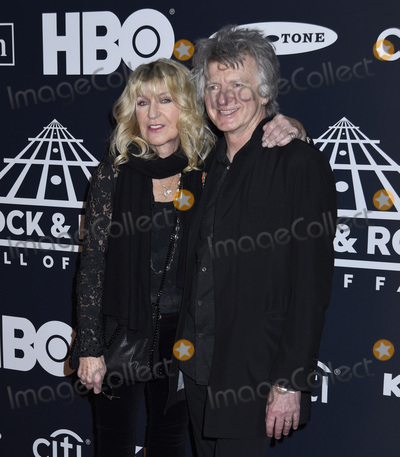 Neil Finn, THE ROCK Photo - 29 March 2019 - Brooklyn, New York - Christine McVie and Neil Finn at the Rock & Roll Hall of Fame Induction Ceremony arrivals, at the Barclays Center. Photo Credit: LJ Fotos/AdMedia