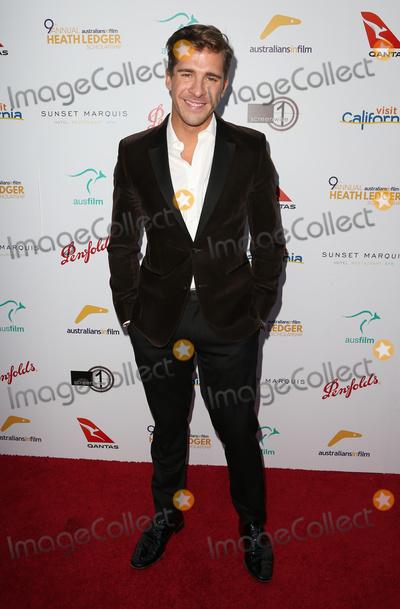 Hugh Sheridan, Heath Ledger Photo - 01 June 2017 - West Hollywood, California - Hugh Sheridan. The 9th Annual Australians In Film Heath Ledger Scholarship Dinner. Photo Credit: F. Sadou/AdMedia