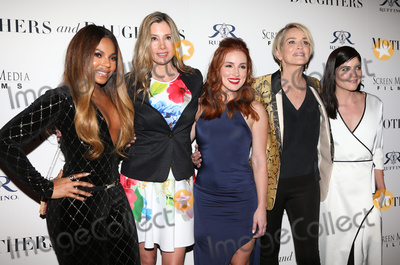 "Ashanti, Mira Sorvino, Sharon Stone, Alexandra Daniels Photo - 28 April 2016 - West Hollywood, California - Ashanti, Mira Sorvino, Alexandra Daniels, Sharon Stone. ""Mothers And Daughters"" Los Angeles Premiere held at The London. Photo Credit: Sammi/AdMedia"