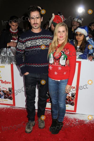 "Alison Lohman Photo - 18 November 2015 - Los Angeles, California - Mark Neveldine, Alison Lohman. ""The Night Before"" Los Angeles Premiere held at The Ace Hotel. Photo Credit: Byron Purvis/AdMedia"