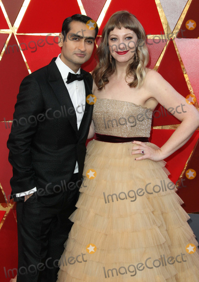 Kumail Nanjiani Photo - 04 March 2018 - Hollywood, California - Kumail Nanjiani, Emily V. Gordon. 90th Annual Academy Awards presented by the Academy of Motion Picture Arts and Sciences held at Hollywood & Highland Center. Photo Credit: AdMedia
