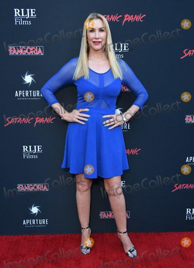 "Caroline Williams Photo - 23 August 2019 - Hollywood, California - Caroline Williams. ""Satanic Panic"" Los Angeles Premiere held at The Egyptian Theatre. Photo Credit: Birdie Thompson/AdMedia"