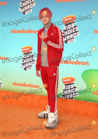 Russell Horning, Backpack Kid Photo - 23 March 2019 - Los Angeles, California - Russell Horning, Backpack Kid. 2019 Nickelodeon Kids' Choice Awards held at The USC Galen Center. Photo Credit: Faye Sadou/AdMedia