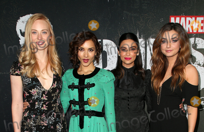 "Amber Rose, Deborah Ann Woll, Floriana Lima, Giorgia Whigham Photo - 14 January 2019 - Hollywood, California - Deborah Ann Woll, Amber Rose Revah, Floriana Lima, Giorgia Whigham. ""Marvel's The Punisher"" Seasons 2 Premiere held at ArcLight Hollywood. Photo Credit: Faye Sadou/AdMedia"