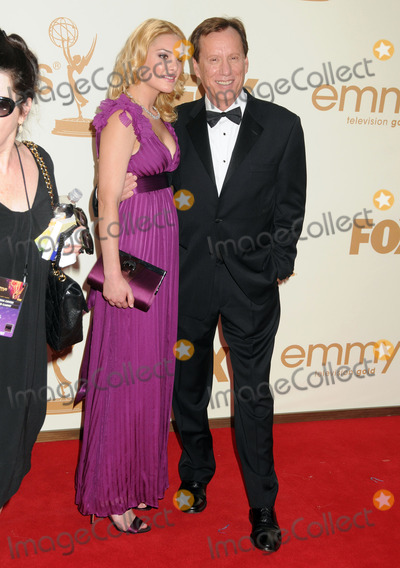 Ashley Madison, James Woods Photo - 18 September 2011 - Los Angeles, California - Ashley Madison and James Woods. 63rd Primetime Emmy Awards held at Nokia Theatre L.A. Live. Photo Credit: Byron Purvis/AdMedia
