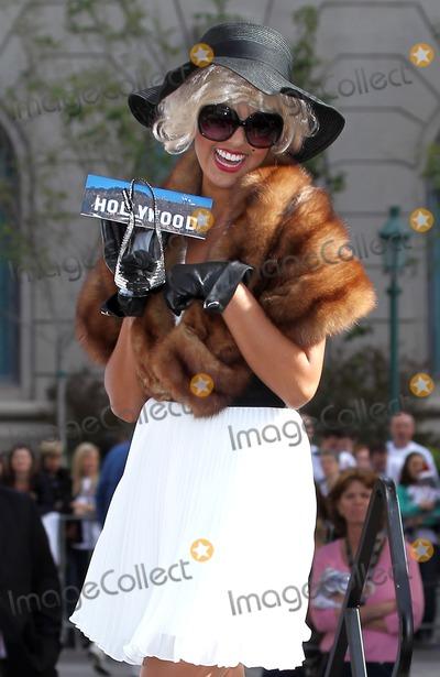 Photo - 14 January 2011 - Las Vegas, Nevada - Miss California Arianna Afsar.  Miss America 2011 DSW Shoe Parade at Paris Resort Hotel and Casino. Photo: MJT/AdMedia
