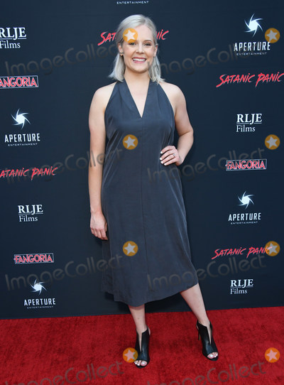 "Amanda Presmyk Photo - 23 August 2019 - Hollywood, California - Amanda Presmyk. ""Satanic Panic"" Los Angeles Premiere held at The Egyptian Theatre. Photo Credit: Birdie Thompson/AdMedia"