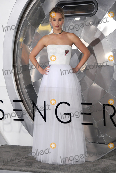 "Jennifer Lawrence Photo - 14 December 2016 - Westwood, California - Jennifer Lawrence. The Los Angeles premiere of ""Passengers"" held at Regency Village Theatre. Photo Credit: Birdie Thompson/AdMedia"