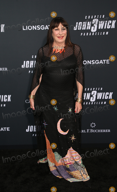 "Anjelica Huston, TCL Chinese Theatre, John Wicks Photo - 15 May 2019 - Hollywood, California -  Anjelica Huston. Special Screening Of Lionsgate's ""John Wick: Chapter 3 - Parabellum"" held at The TCL Chinese Theatre. Photo Credit: Faye Sadou/AdMedia"