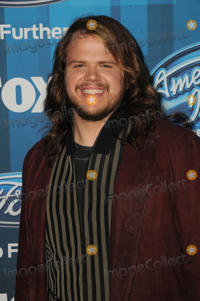 """Caleb Johnson Photo - 07 April 2016 - Hollywood, California - Caleb Johnson. Arrivals for FOX's """"American Idol"""" Finale For The Farewell Season held at The Dolby Theater. Photo Credit: Birdie Thompson/AdMedia"""