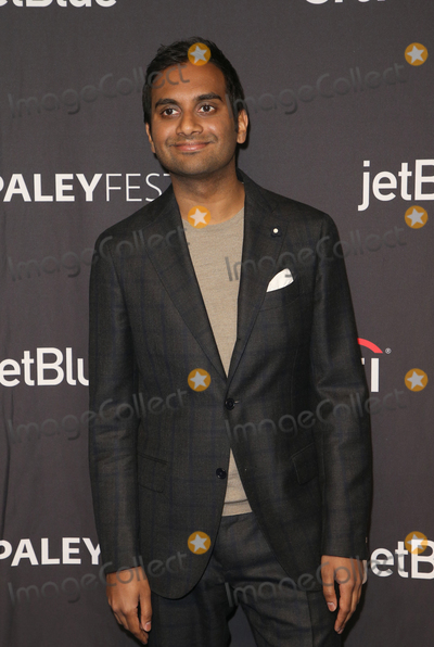 """Aziz Ansari Photo - 21 March 2019 - Hollywood, California - Aziz Ansari. The Paley Center For Media's 2019 PaleyFest LA - """"Parks And Recreation"""" 10th Anniversary Reunion held at The Wolf Theatre at The Dolby Theatre. Photo Credit: Faye Sadou/AdMedia"""