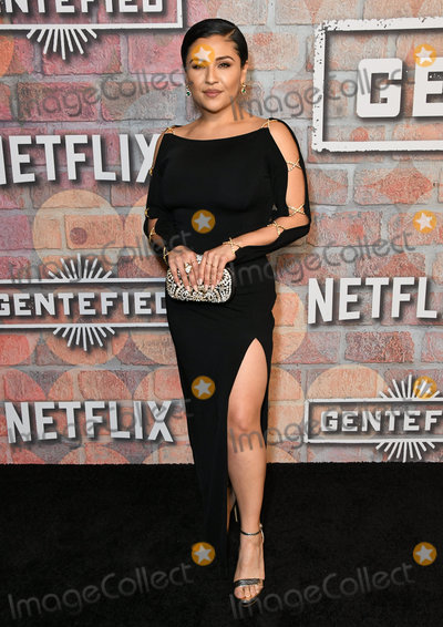 "Annie Gonzalez Photo - 20 February 2020 - Los Angeles, California - Annie Gonzalez. Netflix's ""Gentefied"" Los Angeles Premiere held at the Plaza De La Raza. Photo Credit: Birdie Thompson/AdMedia"