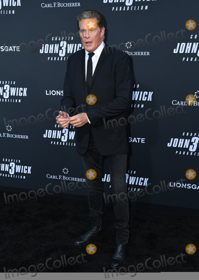 """David Hasseloff, TCL Chinese Theatre, John Wicks Photo - 15 May 2019 - Hollywood, California - David Hasseloff. """"John Wick: Chapter 3 - Parabellum"""" Special Screening Los Angeles held at the TCL Chinese Theatre. Photo Credit: Birdie Thompson/AdMedia"""