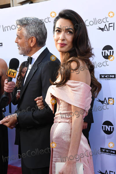 George Clooney, Amal Clooney Photo - 07 June 2018 - Hollywood, California - George Clooney, Amal Clooney. American Film Institute' s 46th Life Achievement Award Gala Tribute to George Clooney held at Dolby Theater. Photo Credit: Birdie Thompson/AdMedia