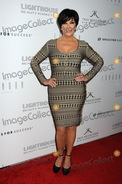 Kris Jenner, Kim Kardashian Photo - 22 March 2012 - West Hollywood, California - Kris Jenner. Kim Kardashian's True Reflection Launch Event to Benefit Dress For Success held at The London West Hollywood Hotel. Photo Credit: Byron Purvis/AdMedia