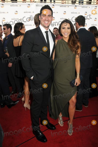 "The Bachelors, Andi Dorfman, Josh Murray Photo - 5 January 2015 - Hollywood, California - Josh Murray, Andi Dorfman. ABC's ""The Bachelor"" Season 19 Premiere held at Line 204 East Stages. Photo Credit: Byron Purvis/AdMedia"