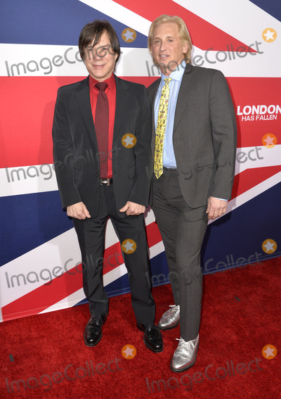 "David Meister, Alan Siegel Photo - 01 March 2016 - Hollywood, California - Alan Siegel, David Meister. ""London Has Fallen"" Los Angeles Premiere held at ArcLight Cinemas Cinerama Dome. Photo Credit: Koi Sojer/AdMedia"