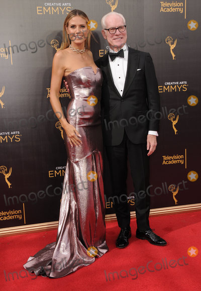 Heidi Klum, Tim Gunn Photo - 11 September 2016 - Los Angeles, California. Heidi Klum, Tim Gunn. 2016 Creative Arts Emmy Awards - Day 2 held at Microsoft Theater. Photo Credit: Birdie Thompson/AdMedia