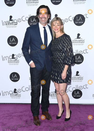 Amy Smart, Carter Oosterhouse Photo - 23 January 2019 - Los Angeles, California - Amy Smart, Amy Oosterhouse, Carter Oosterhouse. 24th Annual LA Art Show Opening Night Gala held at West Hall, Los Angeles Convention Center. Photo Credit: Birdie Thompson/AdMedia
