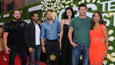 AJ Buckley, Jessica Pare, Max Thieriot, Toni Trucks, David Boreanez Photo - 01 August  2017 - Studio City, California - AJ Buckley, Neil Brown Jr., Max Thieriot, Jessica Pare, David Boreanez, Toni Trucks.  2017 Summer TCA Tour - CBS Television Studios' Summer Soiree held at CBS Studios - Radford in Studio City. Photo Credit: Birdie Thompson/AdMedia