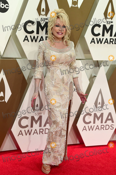 Dolly Parton, CMA Award Photo - 13 November 2019 - Nashville, Tennessee - Dolly Parton. 53rd Annual CMA Awards, Country Music's Biggest Night, held at Music City Center. Photo Credit: Laura Farr/AdMedia