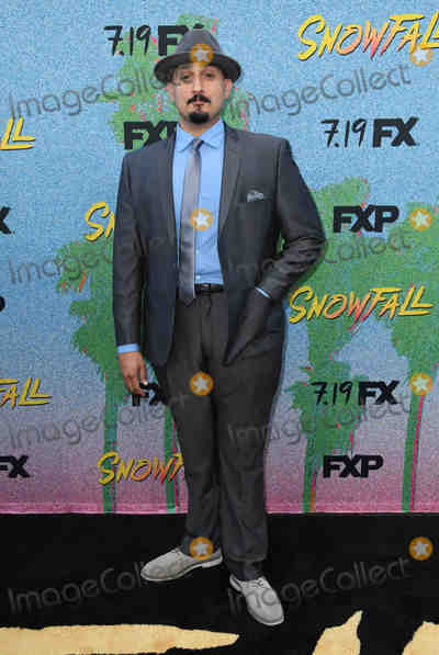 "Adam Mendoza Photo - 16 July 2018 - Los Angeles, California - Adam Mendoza. FX's ""Snowfall"" Season 2 Premiere held at the Regal Cinemas at L.A. LIVE. Photo Credit: Birdie Thompson/AdMedia"