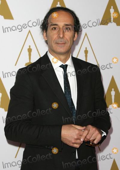 Alexandre Desplat Photo - 10 February 2014 - Los Angeles, California - Alexandre Desplat. 86th Oscars Nominee Luncheon held at the Beverly Hilton Hotel. Photo Credit: AdMedia