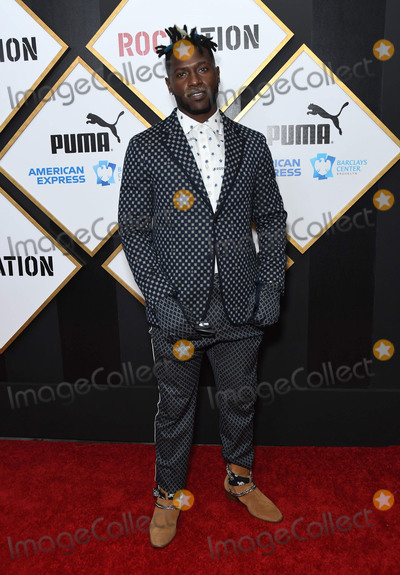 Antonio Brown Photo - 09 February 2019 - Los Angeles, California - Antonio Brown. 2019 Roc Nation THE BRUNCH held at a Private Residence. Photo Credit: Birdie Thompson/AdMedia
