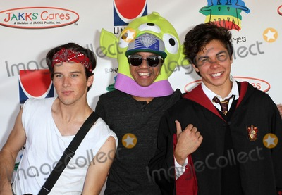 Allstar Weekend Photo - 23 October 2011 - Hollywood, California - zach porter, michael martinez and cameron quiseng of allstar weekend. Camp Ronald McDonald For Good Times' 19th Annual Halloween Carnival Held At Universal. Photo Credit: Kevan Brooks/AdMedia