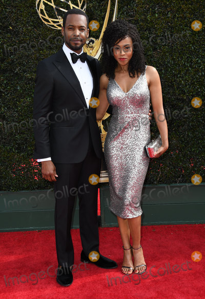 Anthony Montgomery, Vinessa Antoine Photo - 29 April 2018 -Pasadena, California - Anthony Montgomery, Vinessa Antoine. 45th Annual Daytime Emmy Awards held at Pasadena Civic Center. Photo Credit: Birdie Thompson/AdMedia