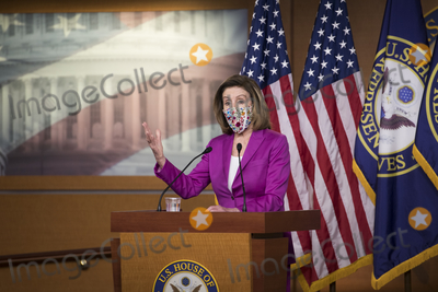 Nancy Pelosi, Representative Nancy Pelosi, The Unit Photo - Speaker of the United States House of Representatives Nancy Pelosi (Democrat of California) offers remarks and fields questions from reporters during a press conference at the U.S. Capitol in Washington, DC, Thursday, January 7, 2021.Credit: Rod Lamkey / CNP/AdMedia