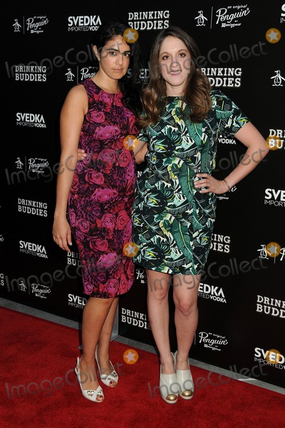 "Photo - 15 August 2013 - Hollywood, California - Andrea Roa, Alicia Van Couvering. ""Drinking Buddies"" Los Angeles Screening held at Arclight Cinemas. Photo Credit: Byron Purvis/AdMedia"