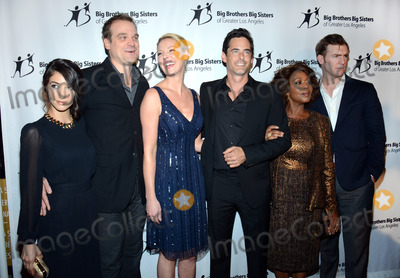 Adam Kaufman, Alfre Woodard, David Harbour, Katherine Heigl, Sheila Vand, Jennifer Salke, Cliff Chamberlain Photo - 24 October 2014 - Beverly Hills, California - Sheila Vand, David Harbour, Katherine Heigl, Adam Kaufman, Alfre Woodard, Cliff Chamberlain. Big Brothers Big Sisters of Greater Los Angeles honor William H. Ahmanson, Jennifer Salke and The Hollywood Reporter during the 2014 Big Bash held at the Beverly Hilton Hotel. Photo Credit: Tonya Wise/AdMedia