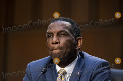 Bill Clark Photo - UNITED STATES - APRIL 20: United States Representative Burgess Owens (Republican of Utah), speaks during the Senate Judiciary Committee hearing on Jim Crow 2021: The Latest Assault on the Right to Vote on Tuesday, April 20, 2021. Credit: Bill Clark / Pool via CNP