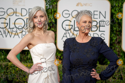 Annie Guest, Jamie Lee Curtis, Jamie Lee, Jamie Salé Photo - Annie Guest and Jamie Lee Curtis arrive at the 73rd Annual Golden Globe Awards at the Beverly Hilton in Beverly Hills, CA on Sunday, January 10, 2016. Photo Credit: HFPA/AdMedia