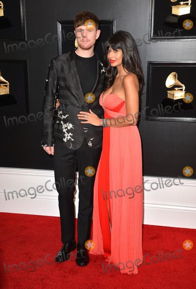 Jameela Jamil, James Blake, James Blakes, Grammy Awards Photo - 10 February 2019 - Los Angeles, California - James Blake, Jameela Jamil. 61st Annual GRAMMY Awards held at Staples Center. Photo Credit: AdMedia