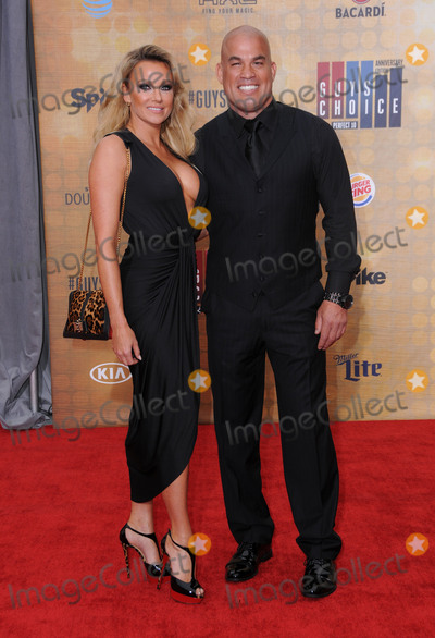 """Tito Ortiz, Amber Miller Photo - 04 June 2016 - Culver City, California - Amber Miller, Tito Ortiz. Arrivals for Spike's """"Guy's Choice"""" held at Sony Pictures Studios. Photo Credit: Birdie Thompson/AdMedia"""