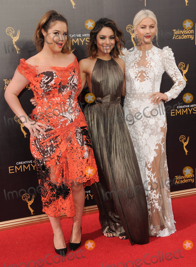 Vanessa Hudgens, Kether Donohue, Vanessa  Hudgens Photo - 11 September 2016 - Los Angeles, California. Kether Donohue, Vanessa Hudgens, Juliaane Hough. 2016 Creative Arts Emmy Awards - Day 2 held at Microsoft Theater. Photo Credit: Birdie Thompson/AdMedia