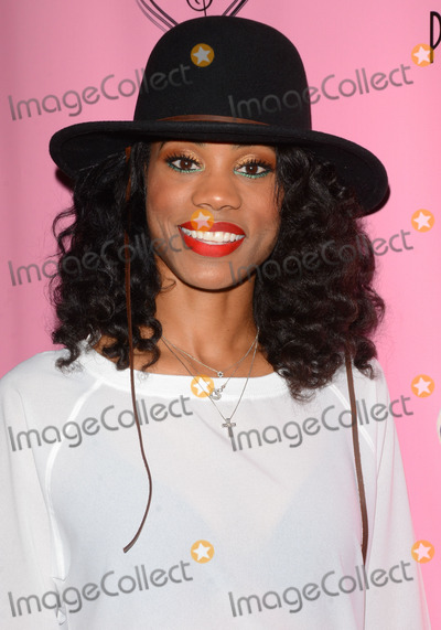 """Algebra Blesstt, Kelly Price Photo - 04 February 2015 - Hollywood, Ca - Algebra Blesstt. Arrivals for Kelly Price's 2nd Annual """"For the Love of R&B"""" held at The Attic. Photo Credit: Birdie Thompson/AdMedia"""