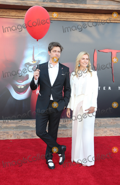 """Andy Muschietti Photo - 26 August 2019 - Westwood, California - Andy Muschietti, Barbara Muschietti. Premiere Of Warner Bros. Pictures' """"It Chapter Two"""" held at Regency Village Theatre. Photo Credit: FSadou/AdMedia"""