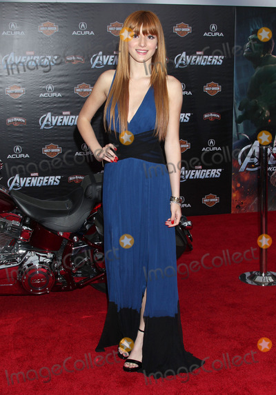 "Bella Thorne Photo - 11 April 2012 - Hollywood, California - Bella Thorne. ""Marvel's The Avengers"" World Premiere held at the El Capitan Theatre. Photo Credit: Russ Elliot/AdMedia"