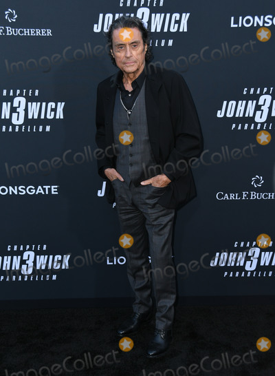 "Ian Mcshane, TCL Chinese Theatre, John Wicks Photo - 15 May 2019 - Hollywood, California - Ian McShane. ""John Wick: Chapter 3 - Parabellum"" Special Screening Los Angeles held at the TCL Chinese Theatre. Photo Credit: Birdie Thompson/AdMedia"