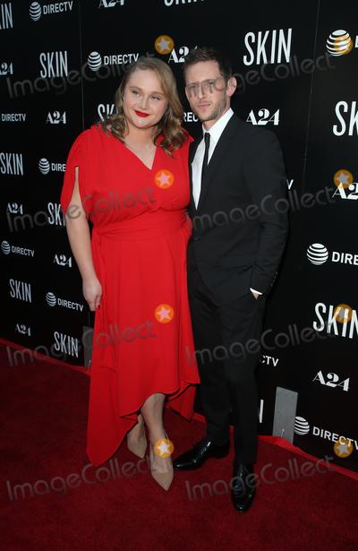Photo - 11 July 2019 - Hollywood, California - Danielle Macdonald, Jamie Bell. The Los Angeles Special Screening of Skin held at ArcLight Hollywood. Photo Credit: Faye Sadou/AdMedia