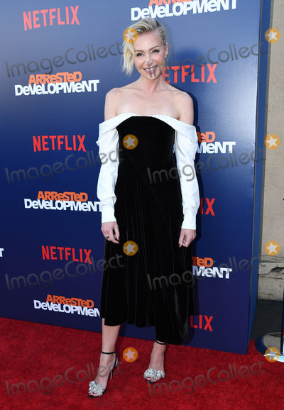 "Arrested Development, Portia De Rossi, Anna Maria Perez de Taglé, Hüsker Dü, Isaach De Bankolé Photo - 17 May 2018 - Hollywood, California - Portia de Rossi. Netflix's ""Arrested Development"" Season 5 Premiere held at Netflix FYSee Theater. Photo Credit: Birdie Thompson/AdMedia"