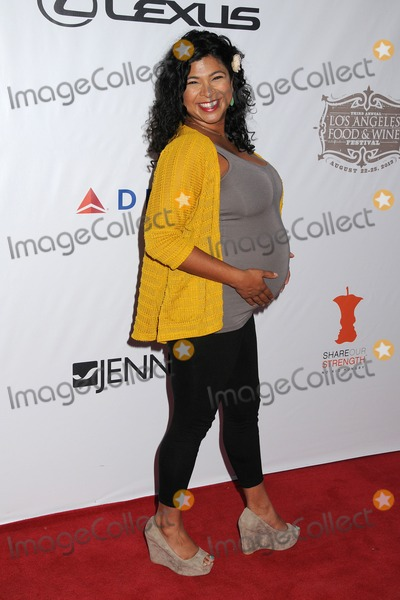 Aarti Sequeira Photo - 22 August 2013 - Los Angeles, California - Aarti Sequeira. 3rd Annual Los Angeles Food & Wine Festival Opening Night held Downtown on Grand Ave. Photo Credit: Byron Purvis/AdMedia