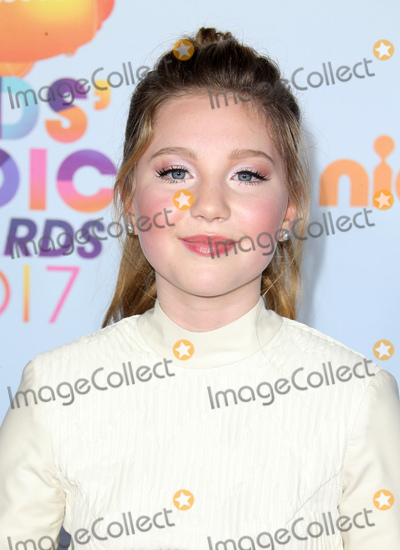 Ella Anderson Photo - 11 March 2017 -  Los Angeles, California - Ella Anderson. Nickelodeon's Kids' Choice Awards 2017 held at USC Galen Center. Photo Credit: Faye Sadou/AdMedia